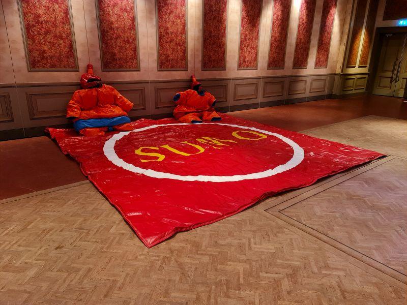 Sumoworstelen Sumo-Oranje - Attractieverhuur Olivier