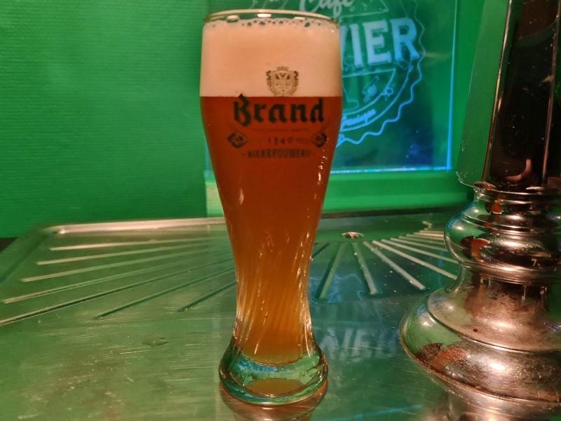 Brand Weizen - Café Olivier