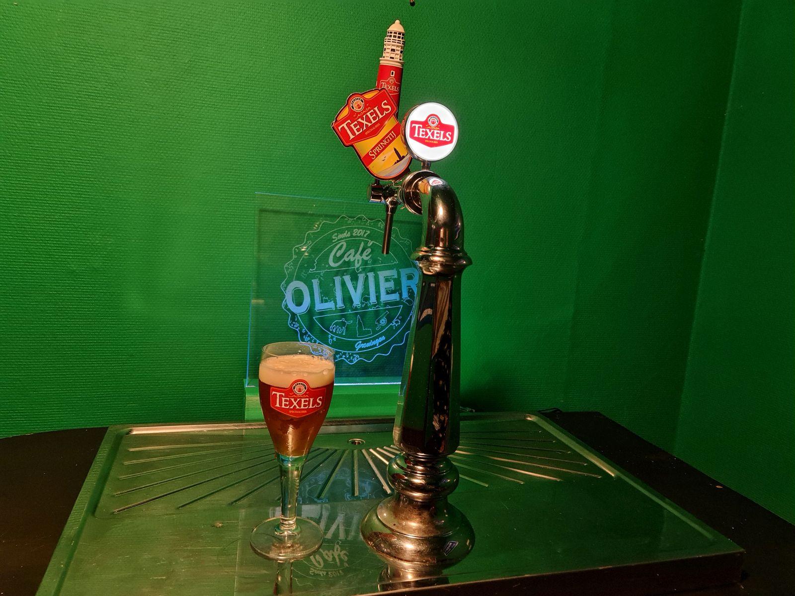 Texels Springtij - Café Olivier
